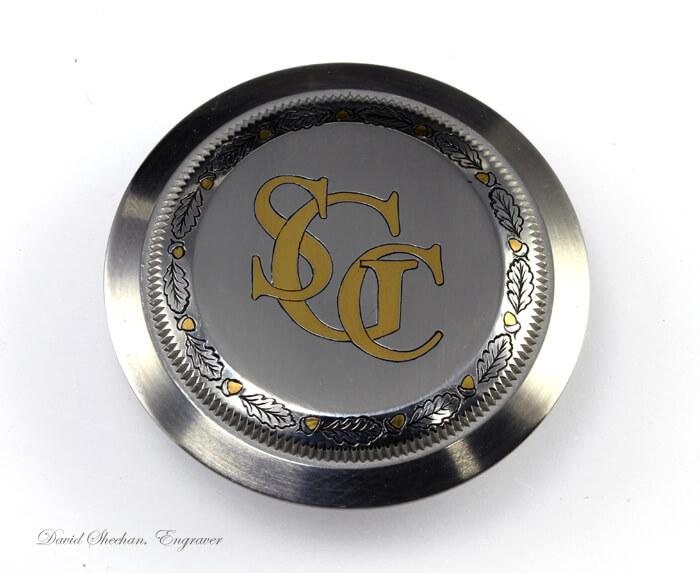 Rolex gold inlay