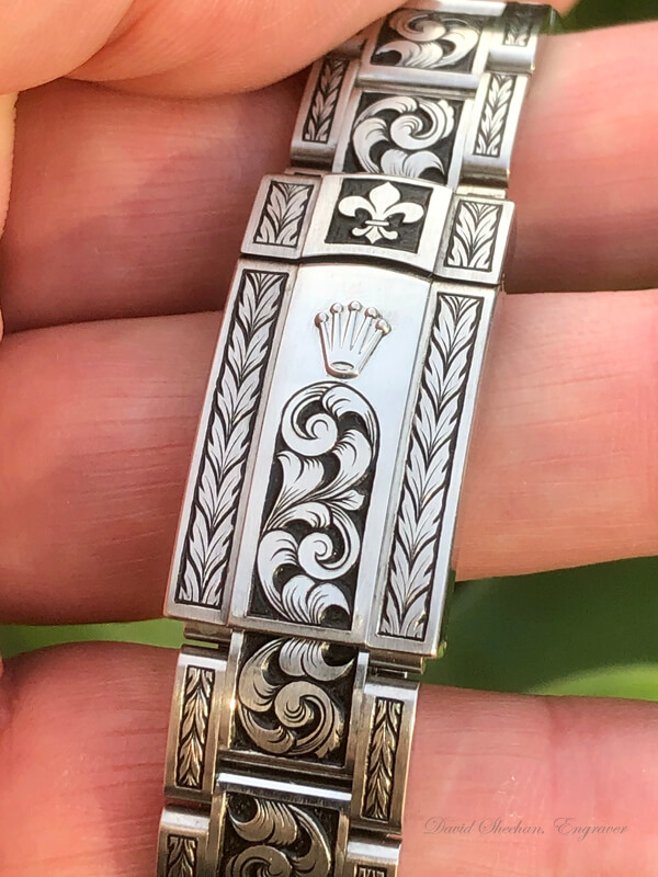 Custom Rolex Engraving