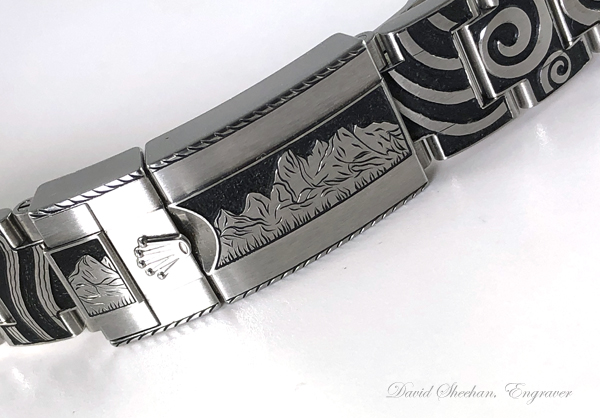 Rolex Band Engraving